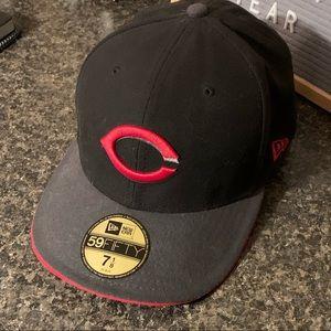 Cincinnati Reds 59Fifty flat bill hat